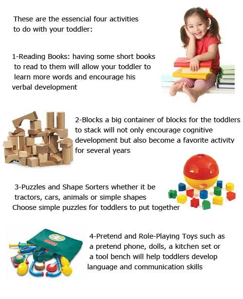 cognitive activities for toddlers